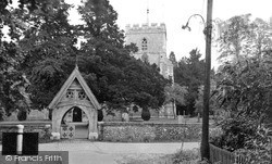 Wendover, St Mary's Church c.1955