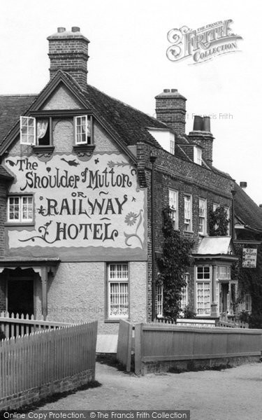 Photo of Wendover, The Shoulder Of Mutton Or Railway Hotel 1901