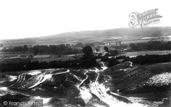 Wendover, View From The Hills 1901
