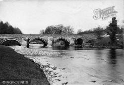 Wensley, Bridge 1889