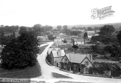 Wensley, From Church Tower 1893