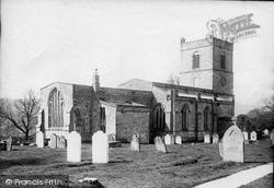 Wensley, Holy Trinity Church 1889