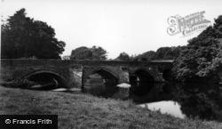 Wensley, The Bridge c.1955