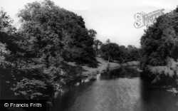 Wensley, The River c.1960