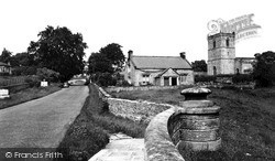 Wensley, The Village And Holy Trinity Church c.1955
