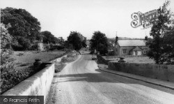 Wensley, The Village From The Bridge c.1960