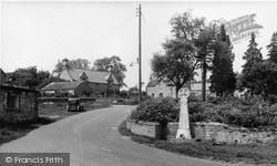 Wensley, War Memorial c.1955