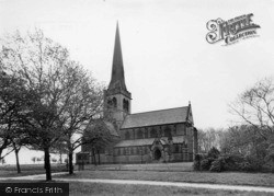 Holy Trinity Church c.1965, Wentworth