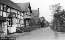 Weobley, A Pretty Corner c.1950