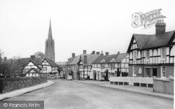 Weobley, Broad Street c.1950