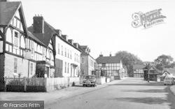 Weobley, Broad Street c.1955