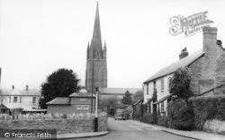 Weobley, Church Lane c.1955