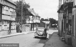 Weobley, High Street c.1950