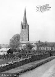 Weobley, St Peter's Church c.1950