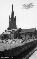 Weobley, The Church Of St Peter And St Paul c.1955