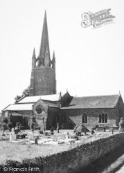 Weobley, The Church Of St Peter And St Paul c.1960