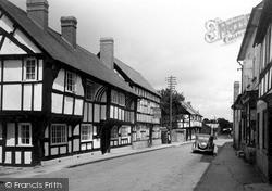 Weobley, The Olde Unicorn Inn c.1950