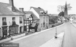 Weobley, The Village c.1955