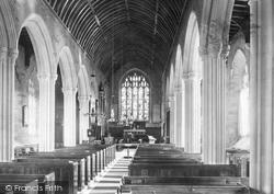 Church, Nave East 1890, West Alvington