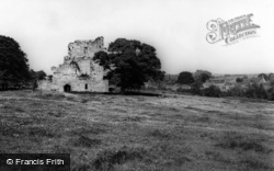 West Ayton, The Castle And Village c.1960