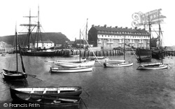West Bay, The Harbour 1902