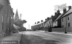 St Nicholas Terrace c.1950, West Boldon