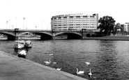 West Bridgford, Bridgford Hotel c1965