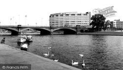 West Bridgford, Bridgford Hotel c.1965