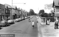 West Bridgford, Central Avenue c.1965