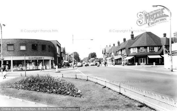 Photo of West Bridgford, Central Avenue c.1965