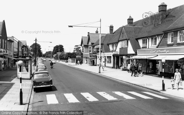 Photo of West Bridgford, Central Avenue c.1965