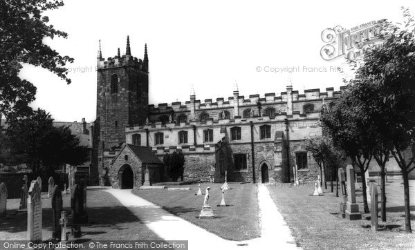 Photo of West Bridgford, Church of St Giles c1965