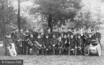 West Bromwich, Dartmouth Park Military Band c1900