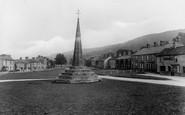 West Burton, Village Green, Market Cross 1929