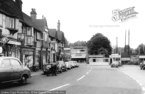 Photo of West Byfleet, c1960
