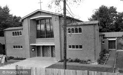 West Byfleet, Catholic Church Of Our Lady c.1960