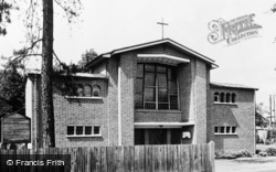 West Byfleet, Catholic Church Of Our Lady c.1965