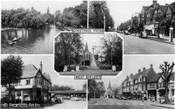 West Byfleet, Composite c.1955
