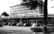 West Byfleet, Shopping Centre c1965