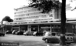 West Byfleet, Shopping Centre c.1965