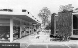 Shopping Centre c.1965, West Byfleet