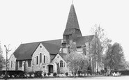 West Byfleet, St John's Church c1955