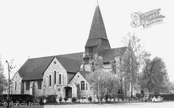 West Byfleet, St John's Church c.1955
