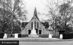 West Byfleet, St John The Baptist's Church c.1955