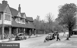 West Byfleet, Station Approach c.1955
