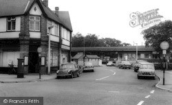 West Byfleet, Station Approach c.1965