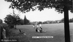 West Byfleet, The Playing Field c.1965