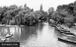 West Byfleet, The Wey Navigation c.1960