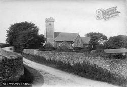 St Mary's Church 1904, West Charleton