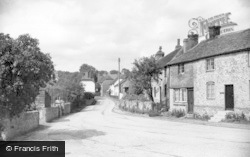 West Chiltington, Church Street c.1955